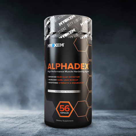 Alphadex bottle front