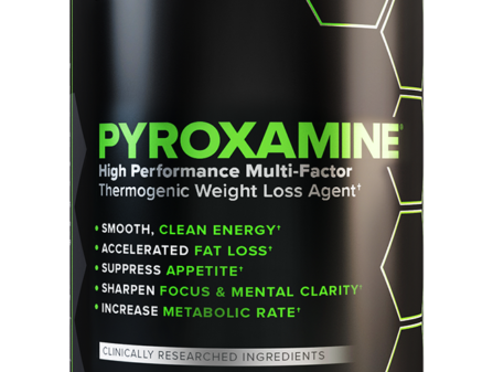 Photo of Pyroxamine fat burner product bottle