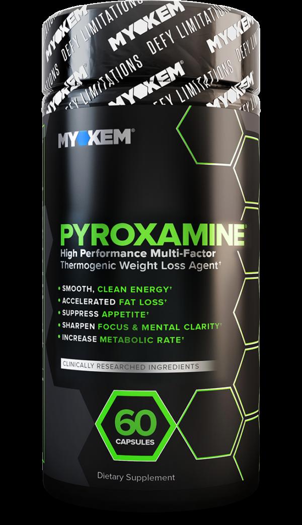 Photo of Pyroxamine fat burner product bottle