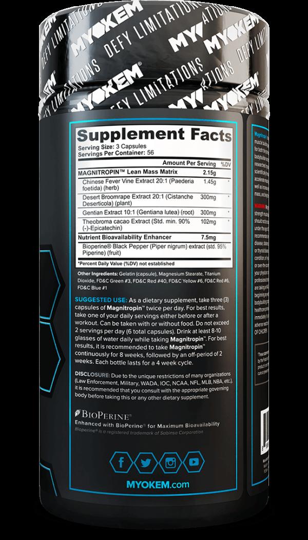 magnitropin bottle supplement facts