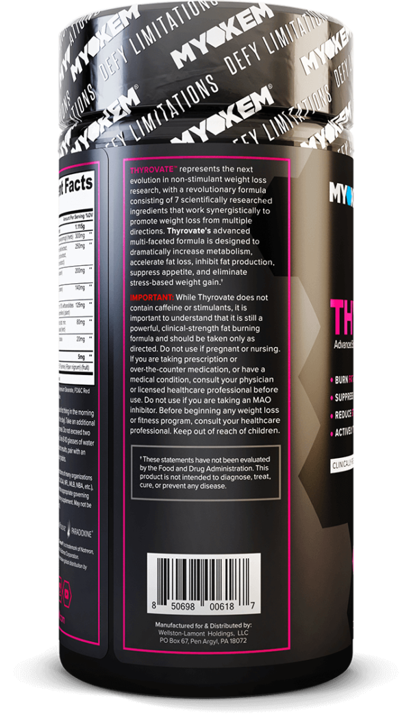 Thyrovate Stim-Free Fat Burner