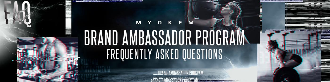Brand Ambassador Program FAQ banner