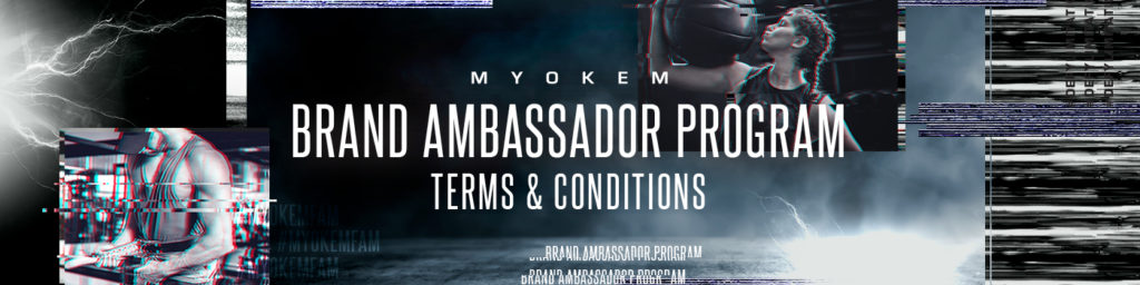 Brand ambassador program terms and conditions banner